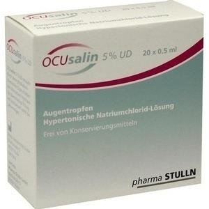OCUSALIN 5% UD KROPLE DO OCZU  20 MINIMSOW X 0,5ML